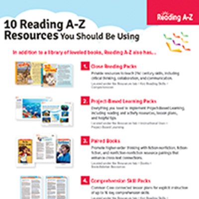 10 Reading A-Z Resources