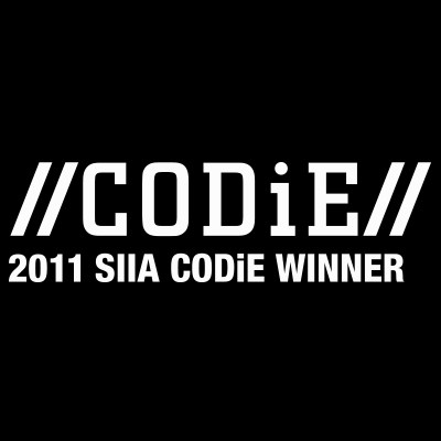 2011 CODiE Award Winner