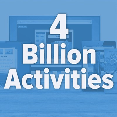 4 Billion Activities Completed