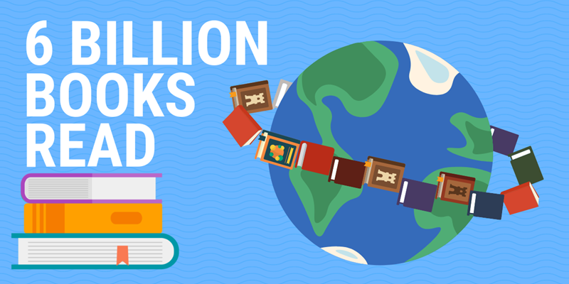 6 Billion Books Read and Counting!