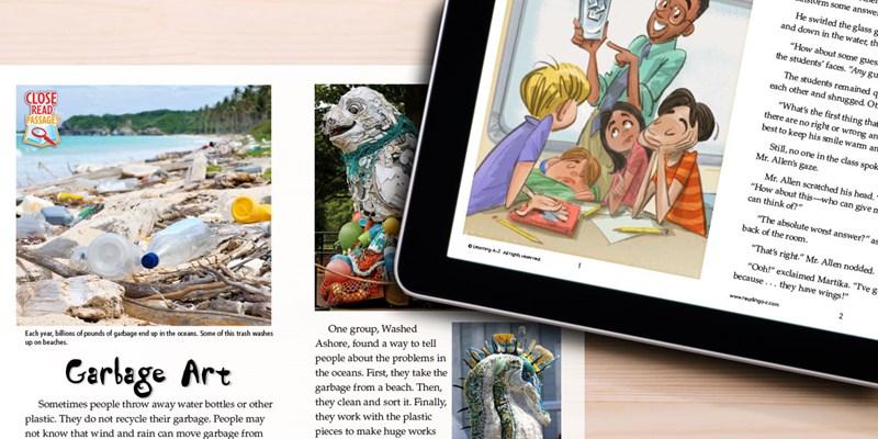 New Raz-Plus and Reading A-Z Close Read Passages...