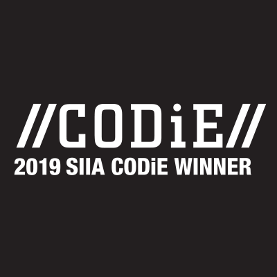 2019 CODiE Award Winner