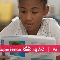 Experience Reading A-Z: One-Of-A-Kind Reading...