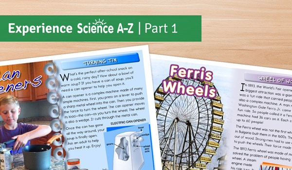 Experience Science A-Z Part 1