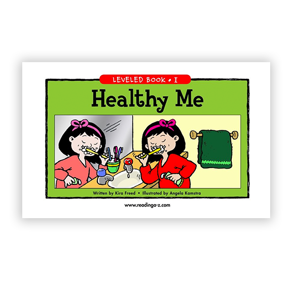 Healthy Me leveled book