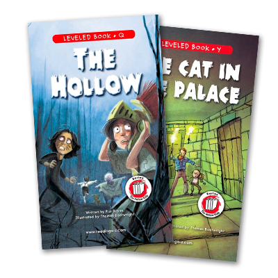 The Hallow Kids Raz-Plus and Reading A-Z leveled books