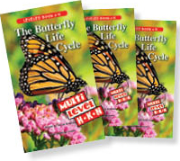 The Butterfly Life Cycle multilevel book