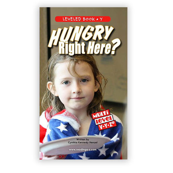 Hungry Right Here? multi-level book