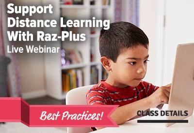 Support Distance Learning With Raz-Plus