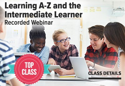 Learning A-Z and the Intermediate Learner