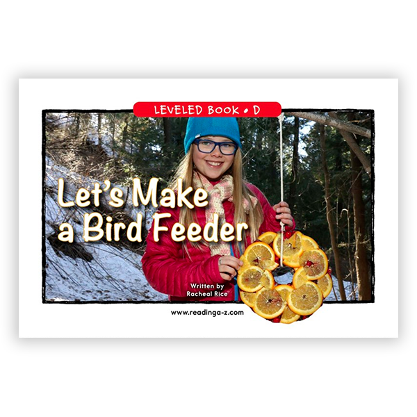 Let's Make a Bird Feeder