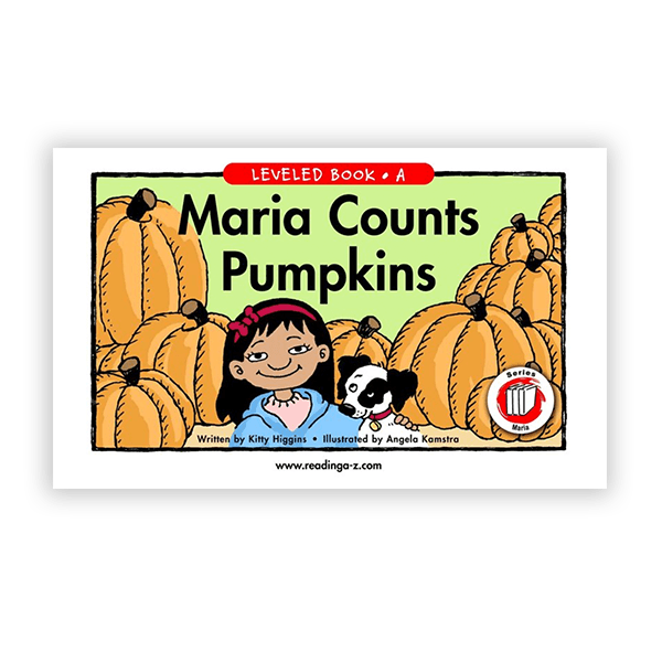 Maria Counts Pumpkins