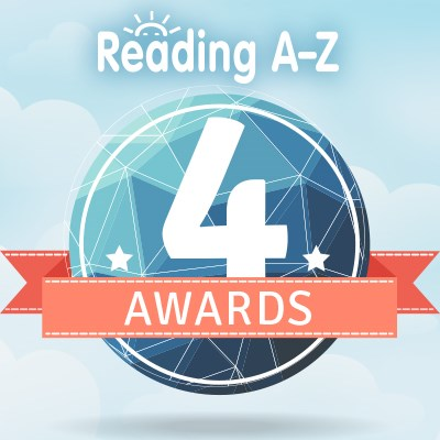 Reading A-Z four awards