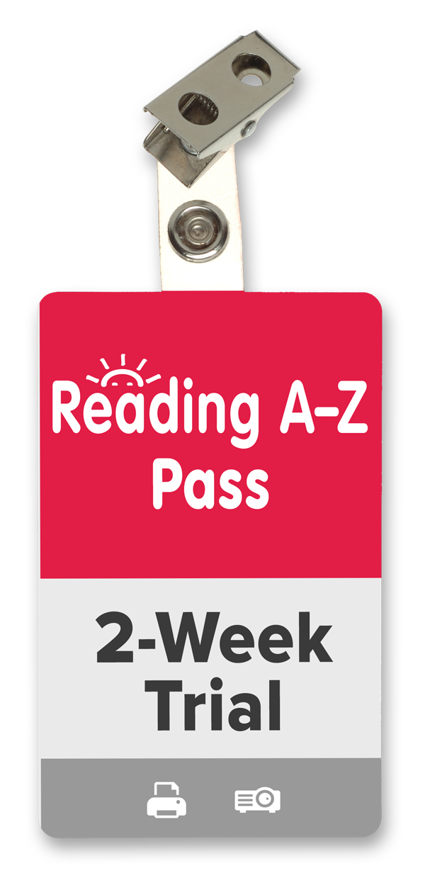 Reading A-Z 2-Week Trial