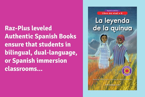 Authentic Spanish Leveled Books from Raz-Plus