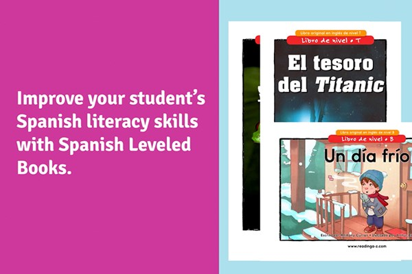 Spanish Leveled Books from Raz-Plus