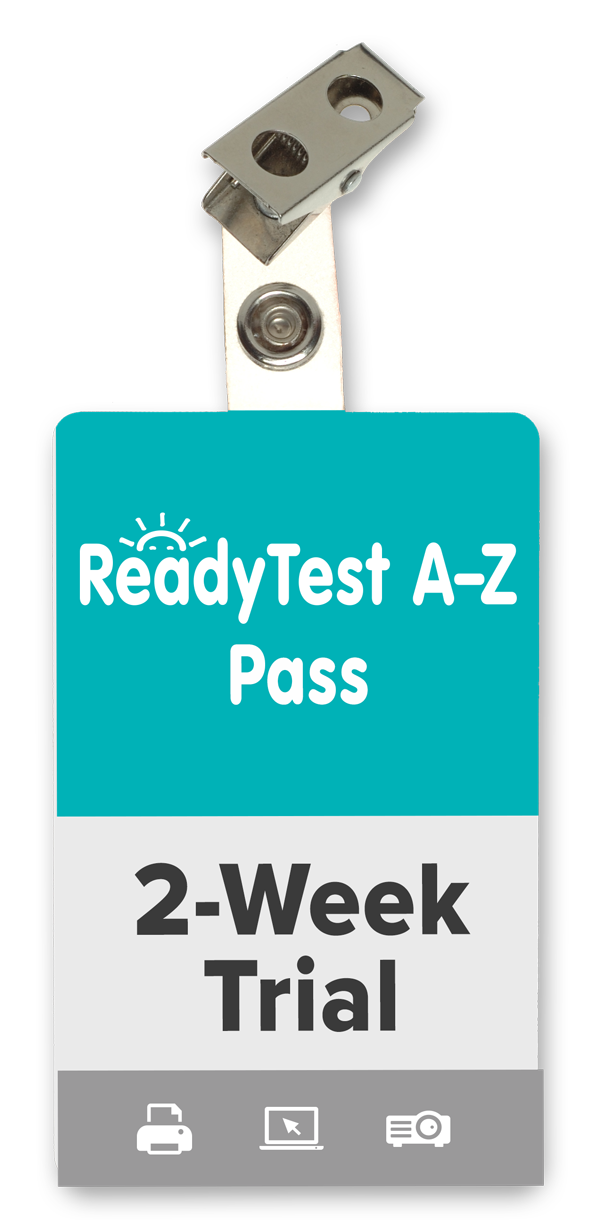 ReadyTest A-Z 2-Week Trial