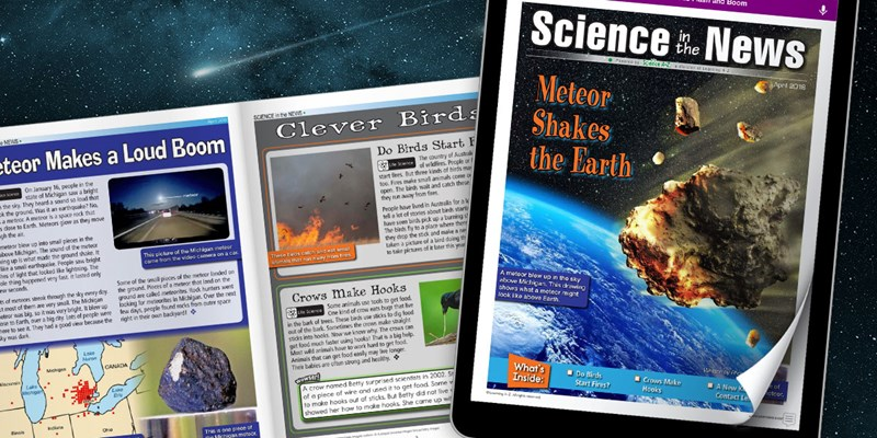 Science in the News April 2018