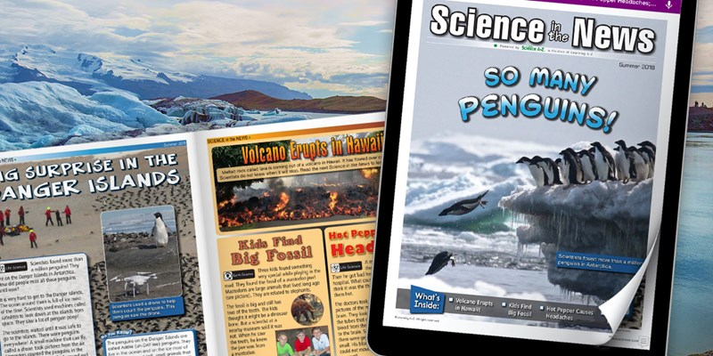 July 2018 Issue of Science in the News