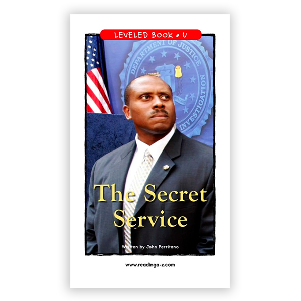 The Secret Service leveled book
