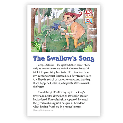 The Swallow's Song