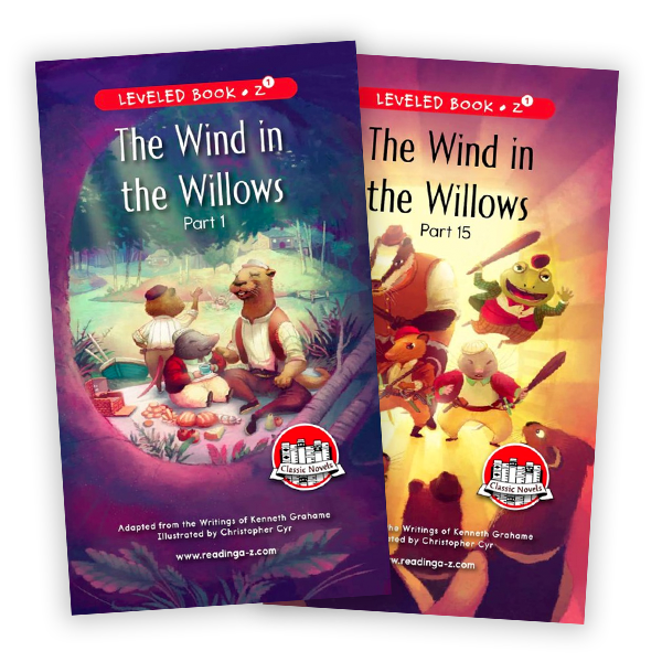 The Wind in the Willows (Parts 1-15)