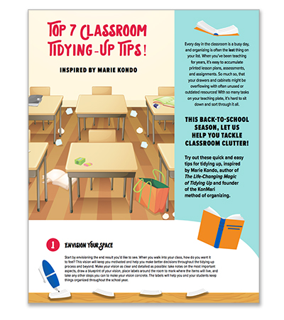 Top 7 Classroom Tidying-Up Tips