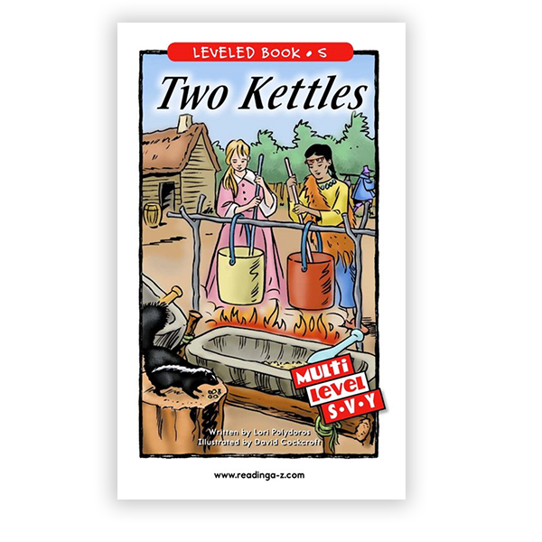 Two Kettles multi-level book