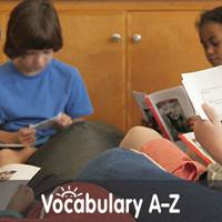 Blasting Off With Vocabulary A-Z