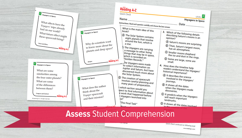 Assess Student Comprehension
