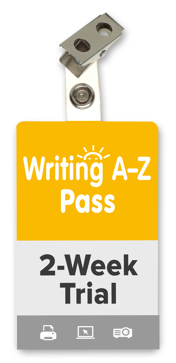 Writing A-Z 2-Week Trial