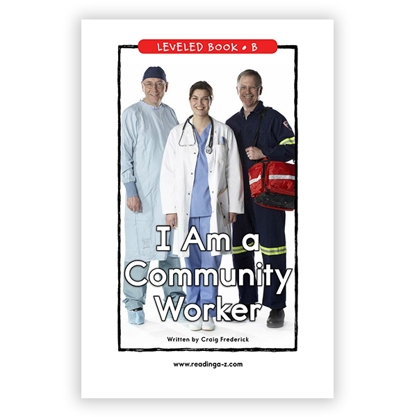 I Am A Community Worker