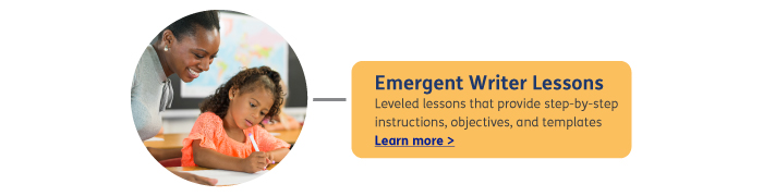 emergent writing lesson