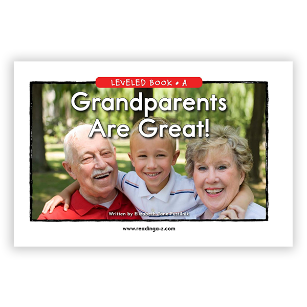 Grandparents are Great!