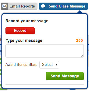Send a Message to the Whole Class