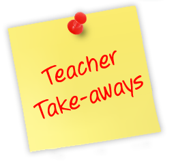 Teacher Take-Aways